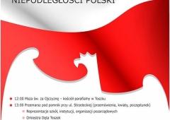 Obchody 11 listopada w Toszku