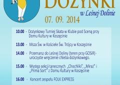 Zaproszenie na dożynki w Koszęcinie