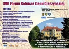 XVII Forum Rolnicze Ziemi Cieszyńskiej