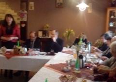 Spotkanie Rady Kobiet Wojewódzkiego Zwiazku Kółek i Organizacji Rolniczych w Węgierskiej Górce