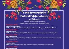 II Międzynarodowy Festiwal Folkrorystyczny  w Koszęcinie