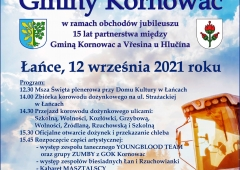 Dożynki gminne w Łańcach - Gmina Kornowac zaprasza