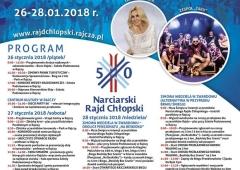 50 Ogólnopolski i 26 Międzynarodowy   Narciarski Rajd Chłopski w Rajczy.