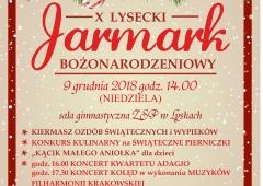 X Jarmark Bożonarodzeniowy w Lyskach