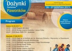 Dożynki powiatu lublinieckiego 26-27.08.2017