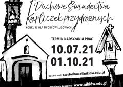 Dziedzictwo polskiej wsi zapisane w przydrożnych kapliczkach - konkurs malarski dla twórców ludowych