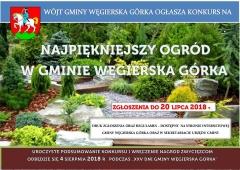 """XIII Konkurs Gminny """"Najpiękniejszy ogród w gminie Węgierska Górka"""""""